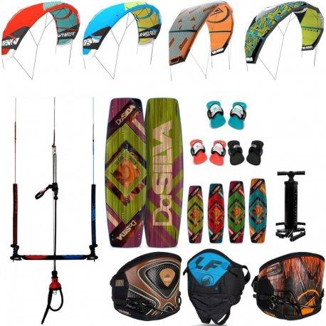 Kite set harness, board, pump and bar Liquid Force - 1