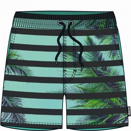 Men's shorts Mosconi Ancon Palm - 1