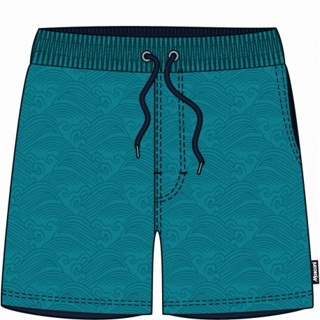Men's shorts Mosconi Ancon Blue Waves - 1