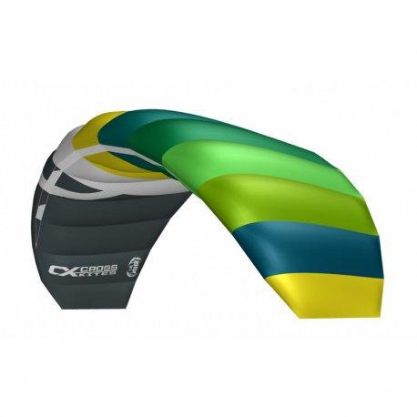 Тренировъчен кайт CrossKites Air 1.8 Green-Yellow R2F - 1