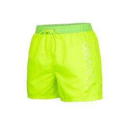 Мъжки борд шорти Zagano 5116 жълто-зелени