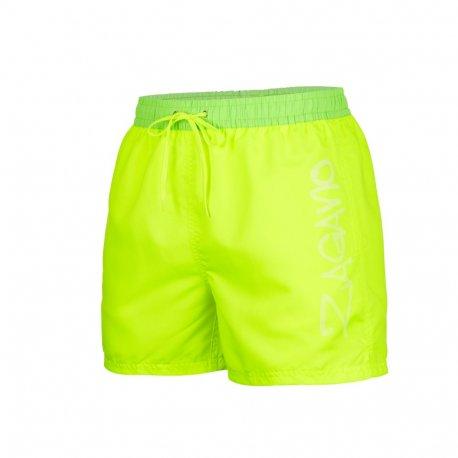 Men's shorts Zagano 5116 Yellow-green - 1