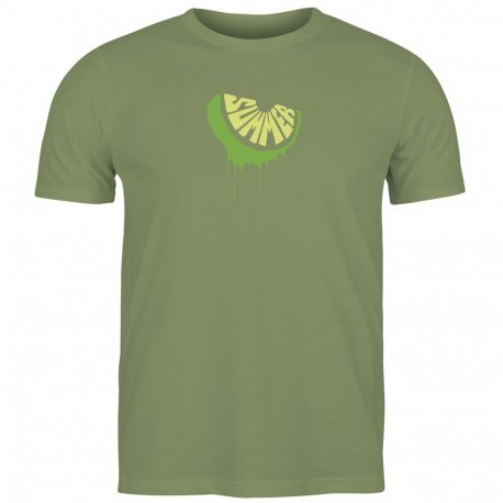Men's T-shirt Mosconi Lime Oliva - 1