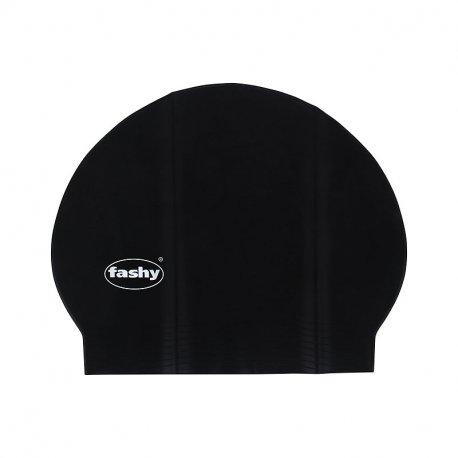 Swimming cap Fashy Latexhaube Black - 1