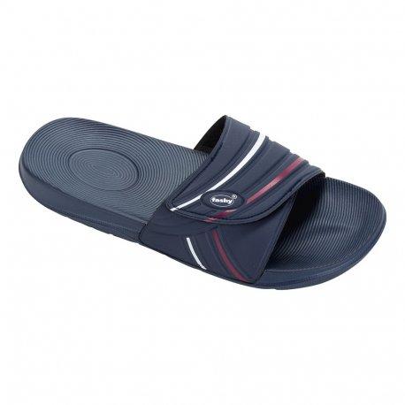 Flip Flops Fashy Slipper Blue - 1