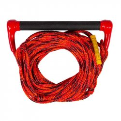 Wakeboard and Water Ski Rope Jobe Transfer Red - 1