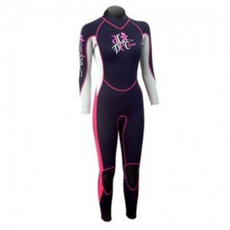 Wetsuit women's Aropec Vitality Full Pink - 1