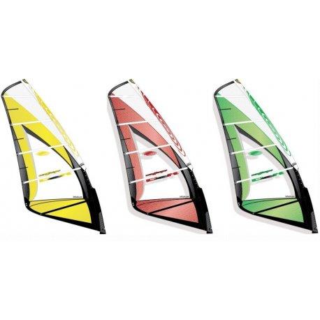 Windsurf sail Loft Sails Wavescape 4.3m2 - 1