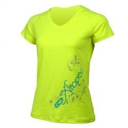 T-shirt Aropec Coolstar UV protection - Yellow