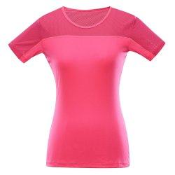 Дамска бързосъхнеща тениска Alpine Pro Leona розова
