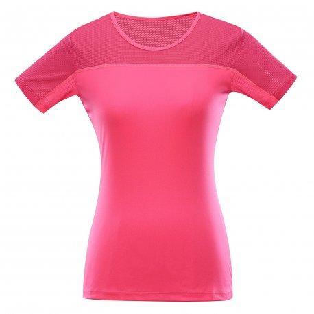 Дамска бързосъхнеща тениска Alpine Pro Leona розова - 1