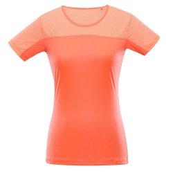 Дамска бързосъхнеща тениска Alpine Pro Leona оранжева