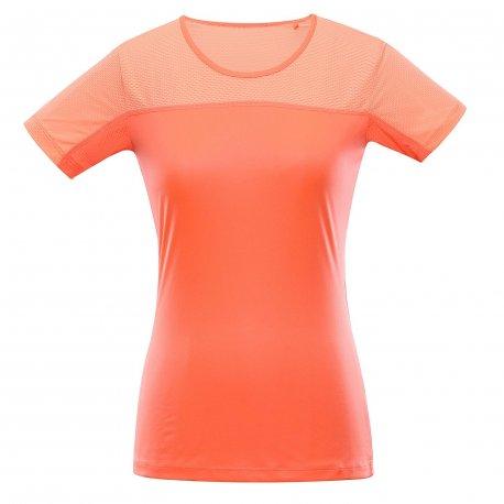 Women's T-shirt Alpine Pro Leona Orange - 1