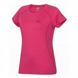 Дамска тениска бързосъхнеща Hannah Speedlora Carmine rose