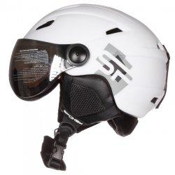 Helmet Spokey Jasper White with replaceable visor
