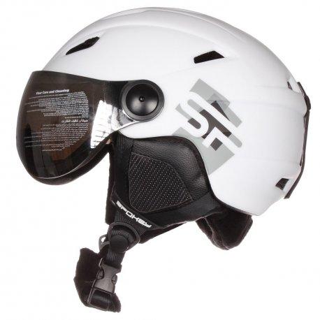 Helmet Spokey Jasper White with replaceable visor - 1