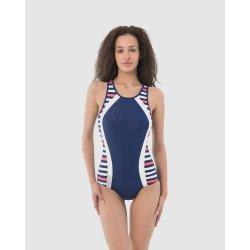 Women's swimsuit one pice Chloe Blue - 1