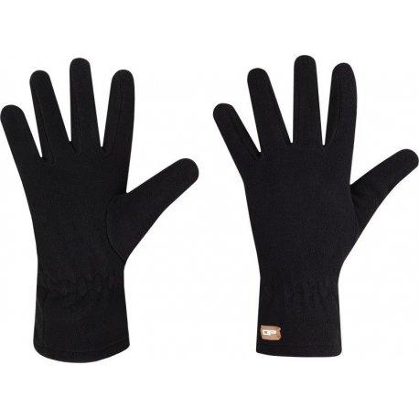 Дамски ръкавици полар Alpine Pro Felice - черни - 1