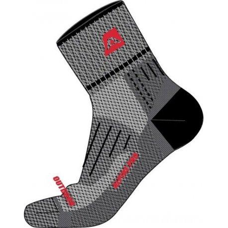 Чорапи Alpine Pro Gorgony сиви - 1