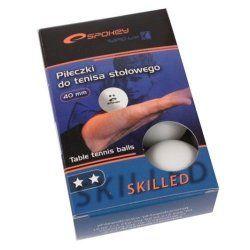 Топчета за тенис на маса Skilled бели 6бр