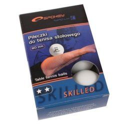Table tennis balls Skilled white 6pcs