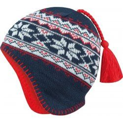 Fleece children's Hat Alpine Pro Severo blue