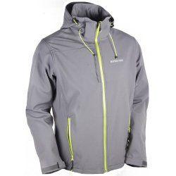Мъжко Softshell яке Monte Pelf сиво - 1