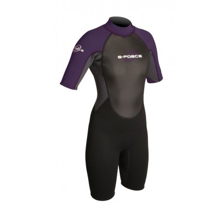 Wetsuit womens GUL 3mm G-Force Violet - 1