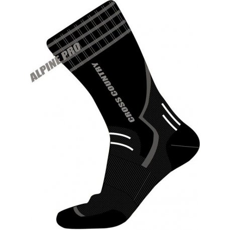Чорапи Alpine Pro Silver черни 35-38 - 1