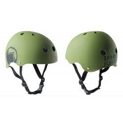 Helmet Liquid Force Core green