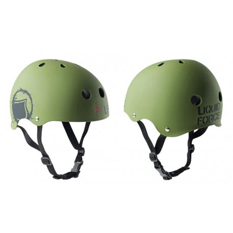 Helmet Liquid Force Core green - 1