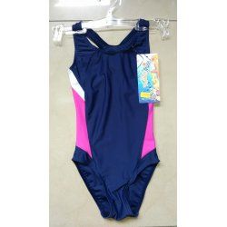 Swimming suit Prestige 0056 dark blue with pink