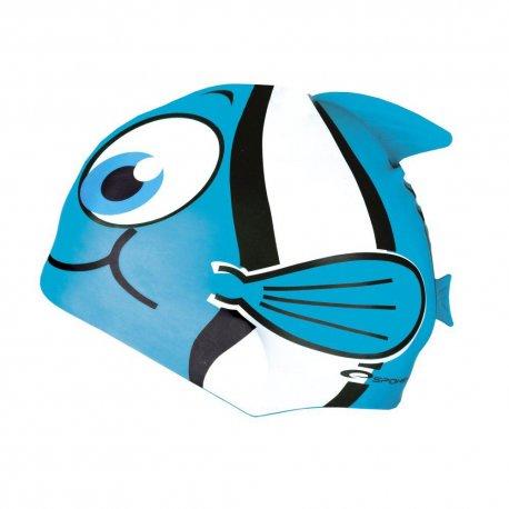 Swimming cap Spokey 87471 blue - 1