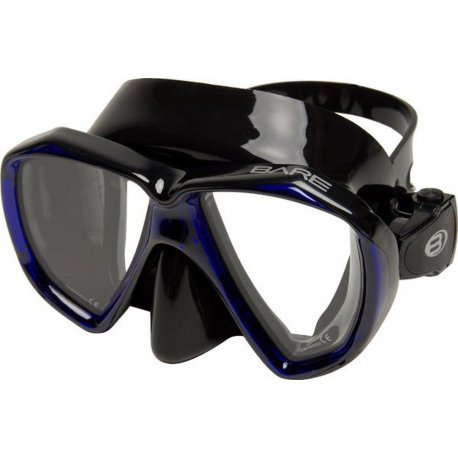 Diving mask Bare Duo B Blue - 1