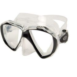 Diving mask Bare Duo Clear Black