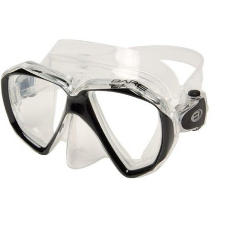 Diving - Diving mask Bare Duo C Black