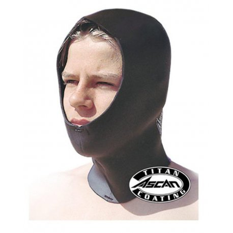 Ascan Neoprenhaube Hood Titan 3mm - 1