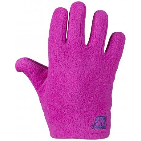 Детски ръкавици полар Alpine Pro Savio розови - 1