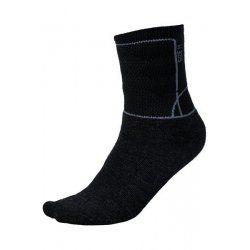 Чорапи Alpine Pro Jarix с мериносова вълна черни 35-38