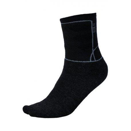 Чорапи Alpine Pro Jarix с мериносова вълна черни 35-38 - 1
