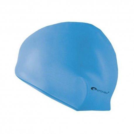 Swimming cap Spokey Summer 83959 light blue - 1