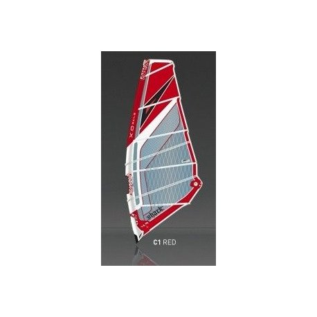Windsurf sail XO Sails Shark 4.0m2 - 1