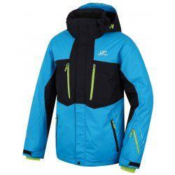 Мъжко яке за ски и сноуборд Hannah Bleed Blue jewel/anthracite - 1