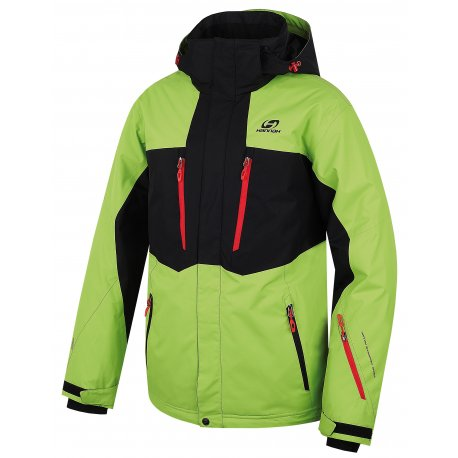 Мъжко яке за ски и сноуборд Hannah Bleed Lime green/anthracite - 1