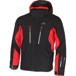 Men's jacket Hannah Boone Anthracite/Fiery red