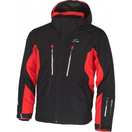 Men's jacket Hannah Boone Anthracite/Fiery red - 1