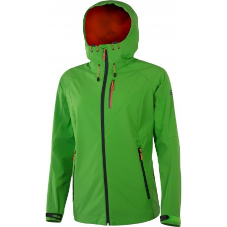 Women's Softshell jacket Hannah Casia Poison green - 1