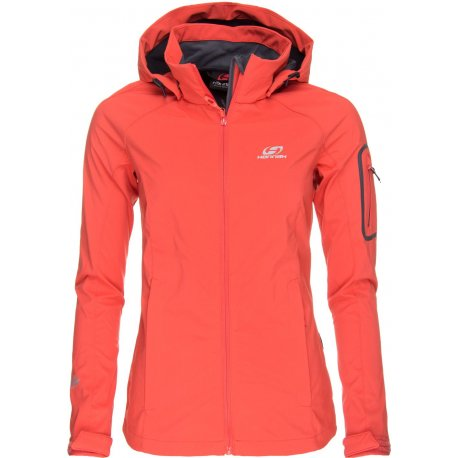 Women's Softshell jacket Hannah Shawn Hot coral - 2