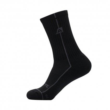 Чорапи Alpine Pro Banff 990 черни - 1