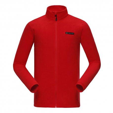 Men's fleece Alpine Pro Kier 475 red - 4